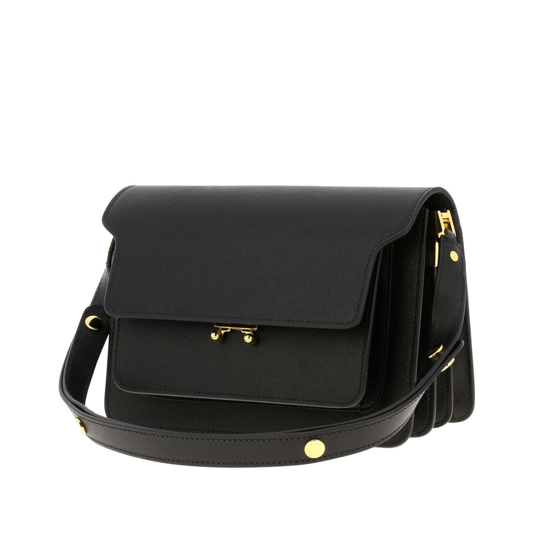 Crossbody bags women Marni black 4