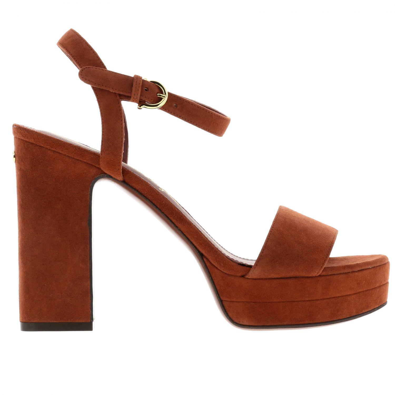 Sandalias de tacón Salvatore Ferragamo: Zapatos planos mujer Salvatore Ferragamo rojo 1