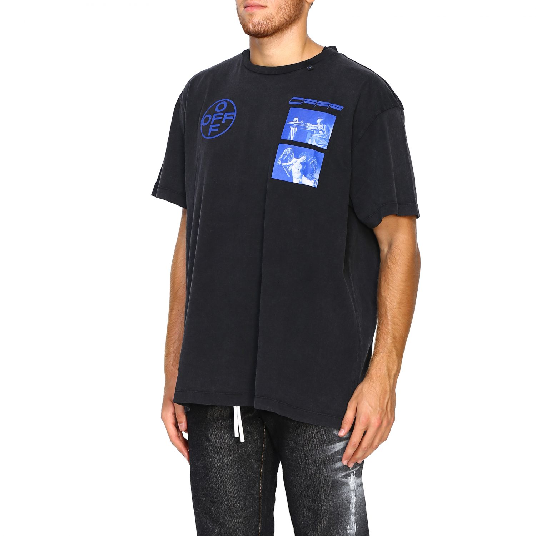 T-shirt Off White: T-shirt men Off White black 4