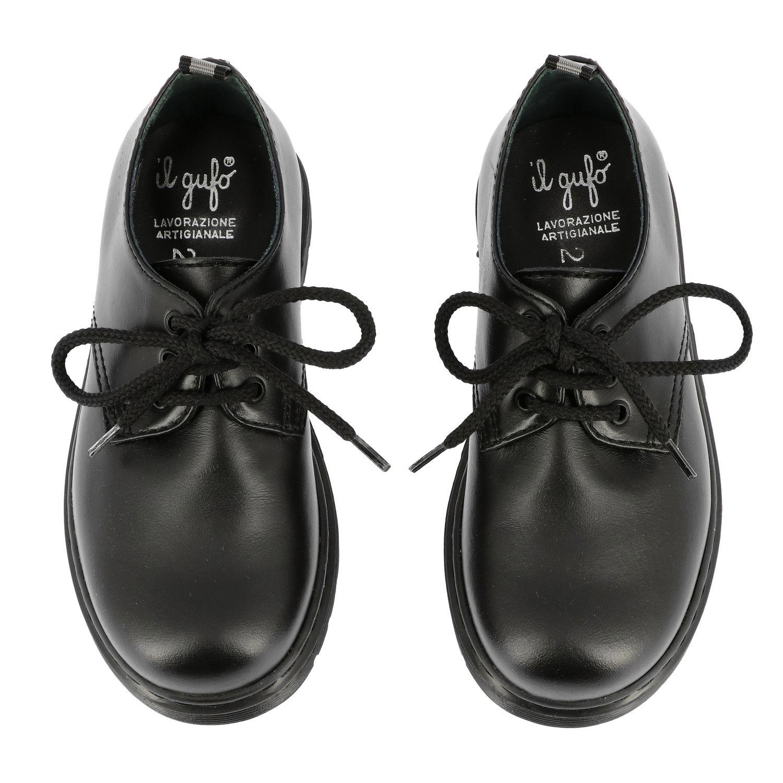 鞋履 儿童 Il Gufo 黑色 3