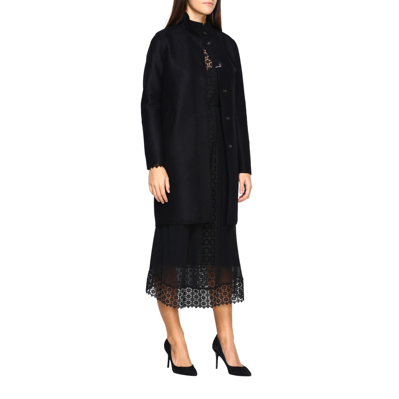 Coat women Harris Wharf London black 2