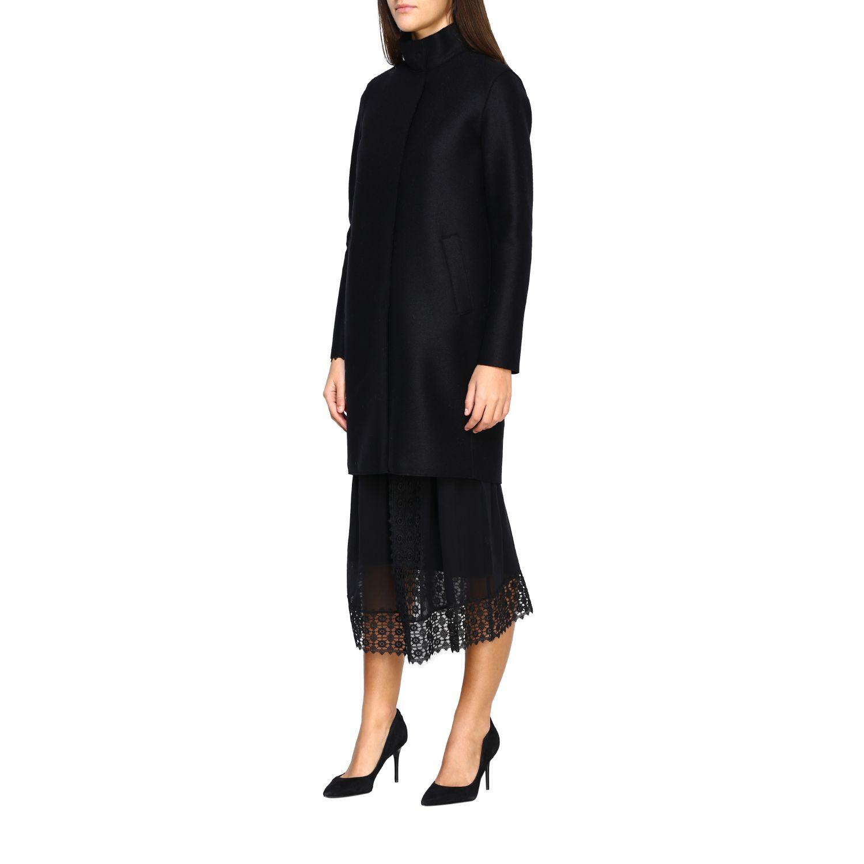 Coat women Harris Wharf London black 4
