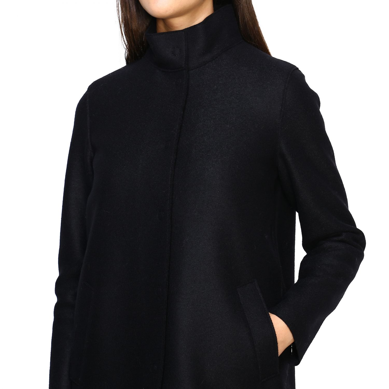 Coat women Harris Wharf London black 5