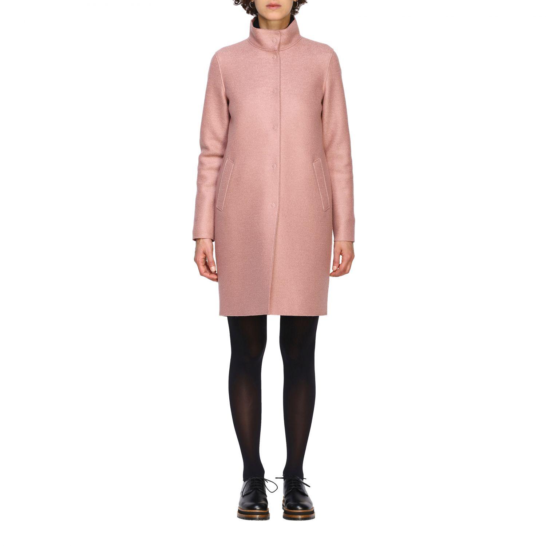 Coat women Harris Wharf London pink 1