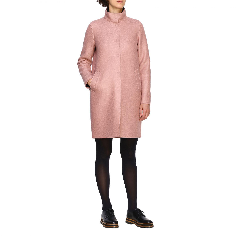 Coat women Harris Wharf London pink 2