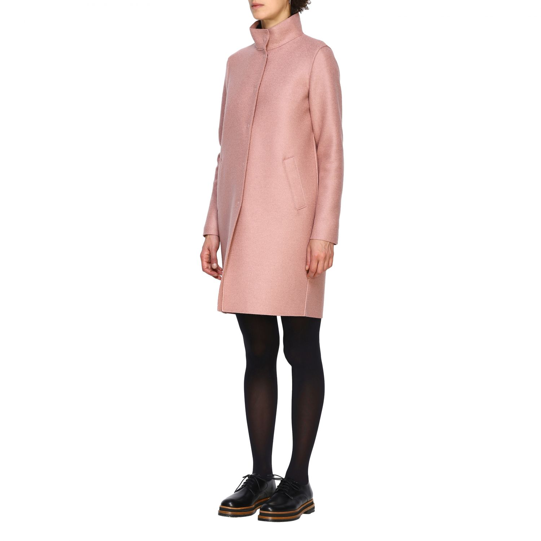 Coat women Harris Wharf London pink 4