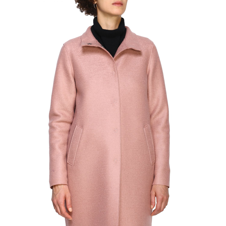 Coat women Harris Wharf London pink 5