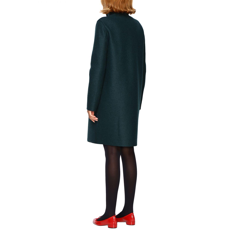 Coat women Harris Wharf London green 3