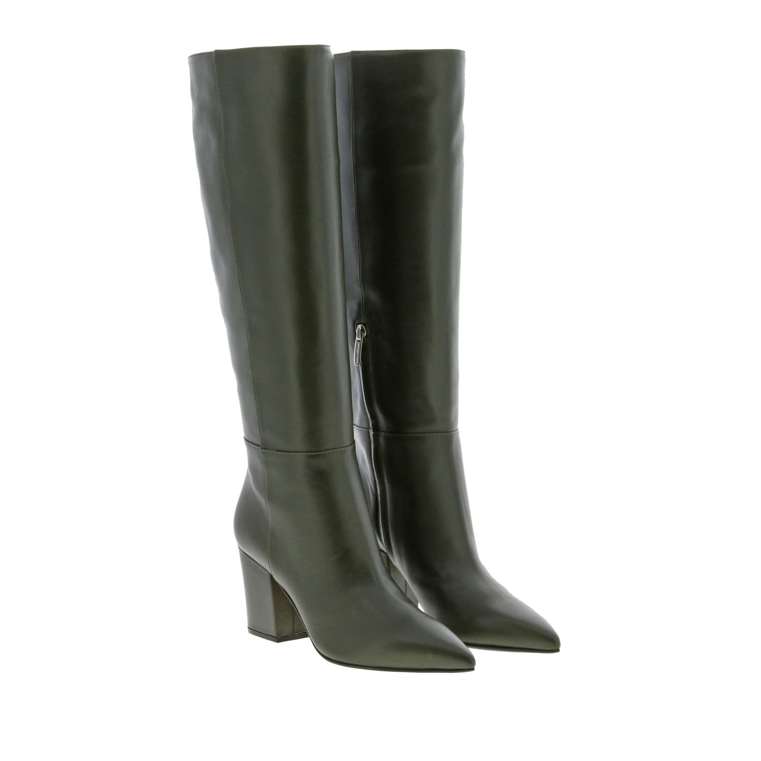 Boots women Sergio Rossi green 2