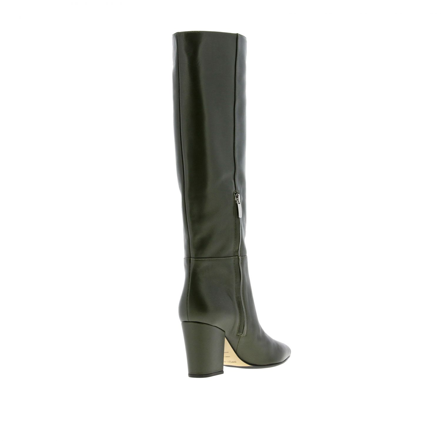 Boots women Sergio Rossi green 4