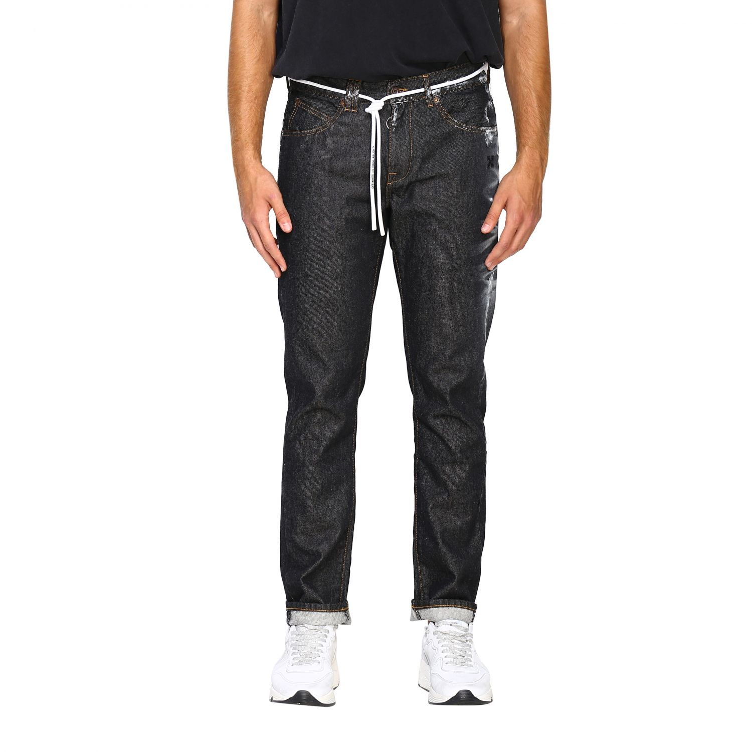 Jeans Off White: Jeans herren Off White schwarz 1