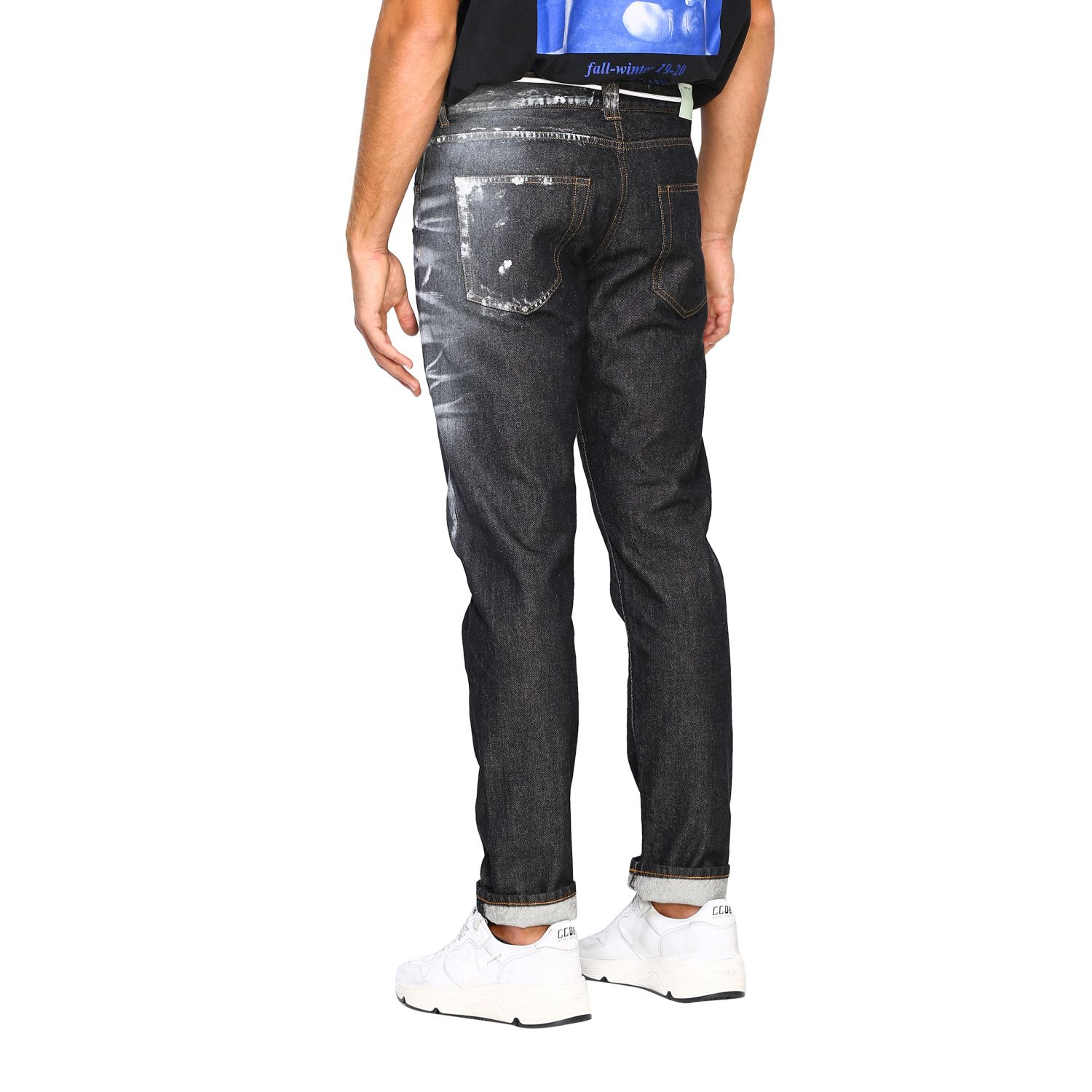 Jeans Off White: Jeans herren Off White schwarz 3