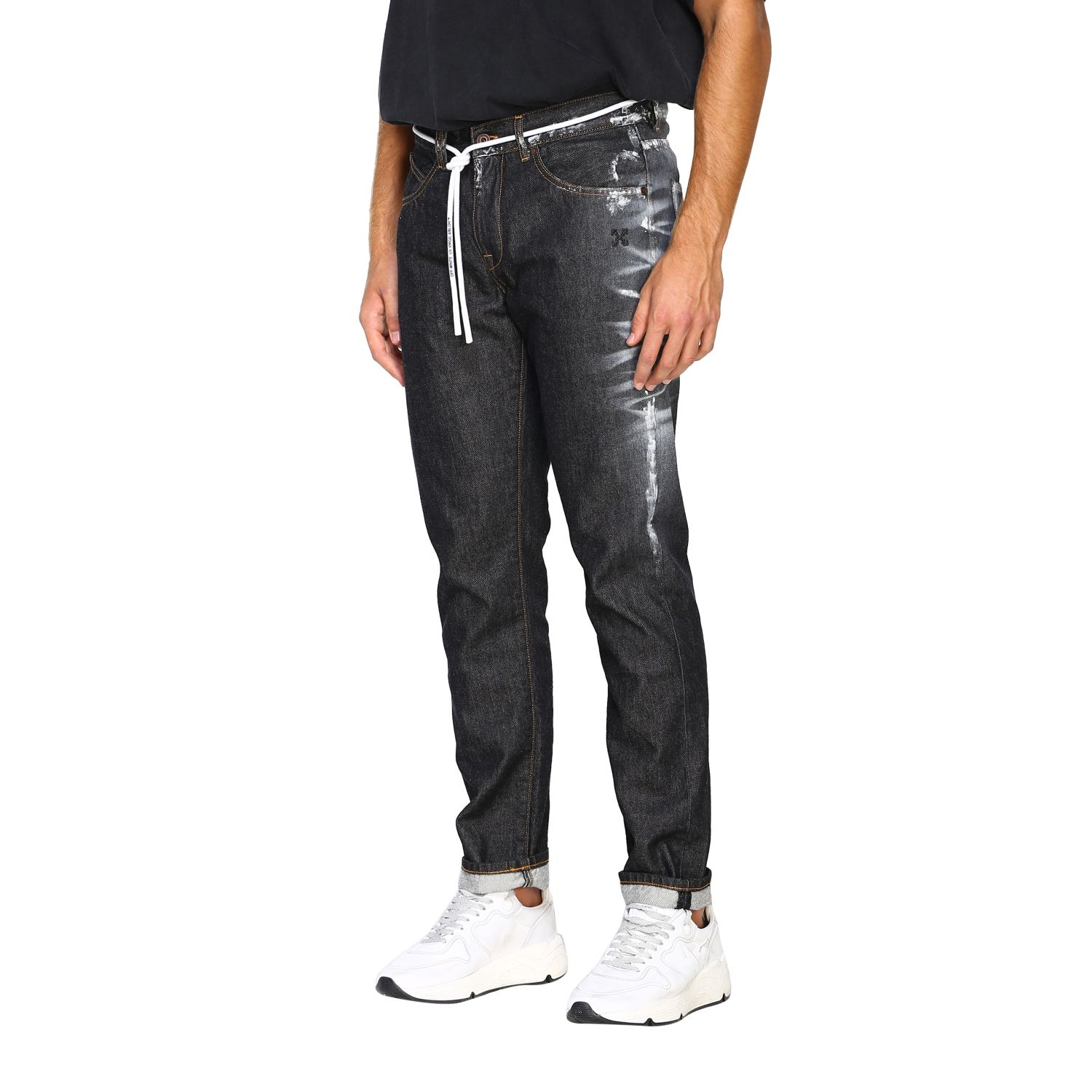 Jeans Off White: Jeans herren Off White schwarz 4