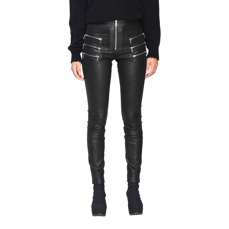 Pantalon femme Unravel Project noir 1