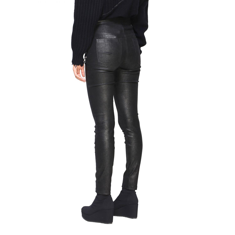 Pantalon femme Unravel Project noir 3
