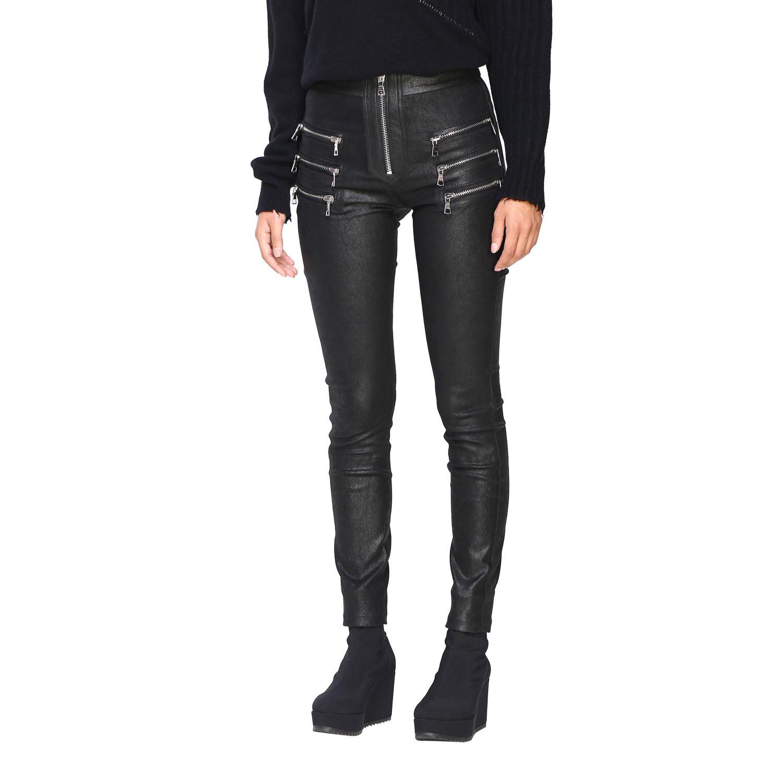 Pantalon femme Unravel Project noir 4