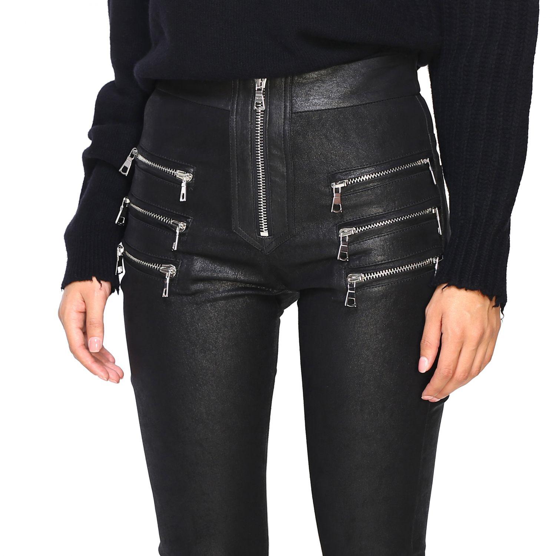 Pantalon femme Unravel Project noir 5