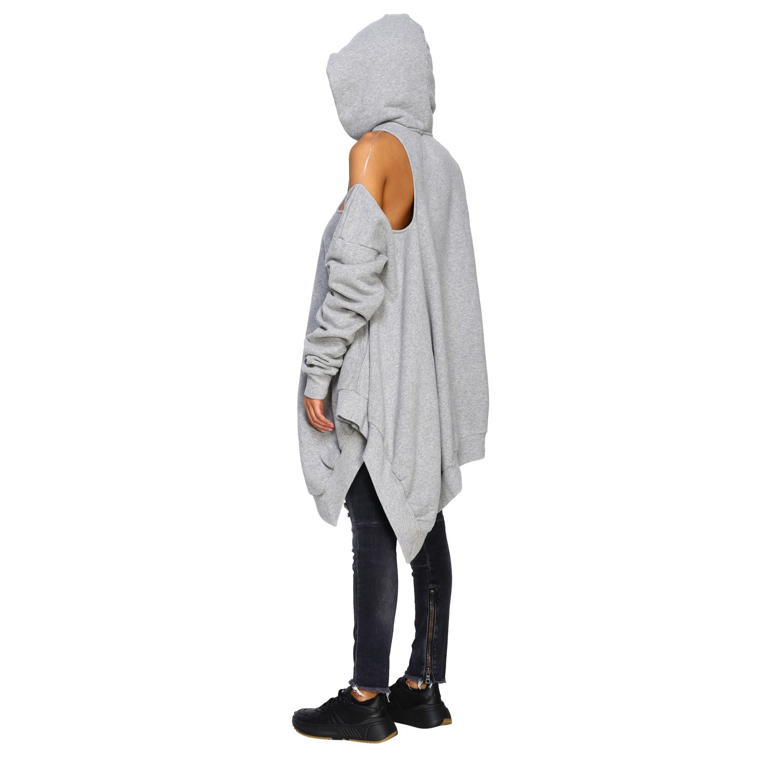 Pull femme Unravel Project gris 3
