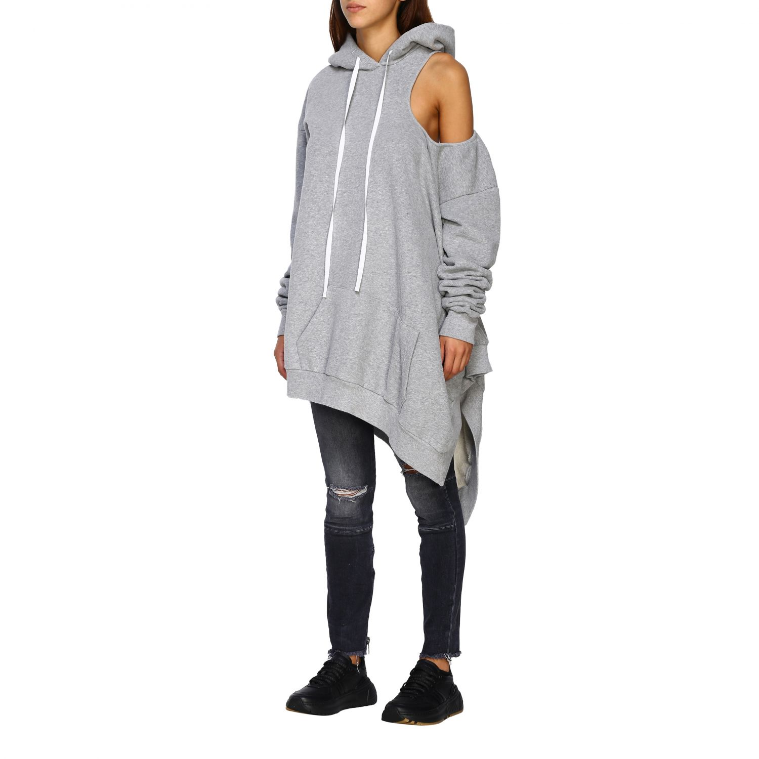 Pull femme Unravel Project gris 4