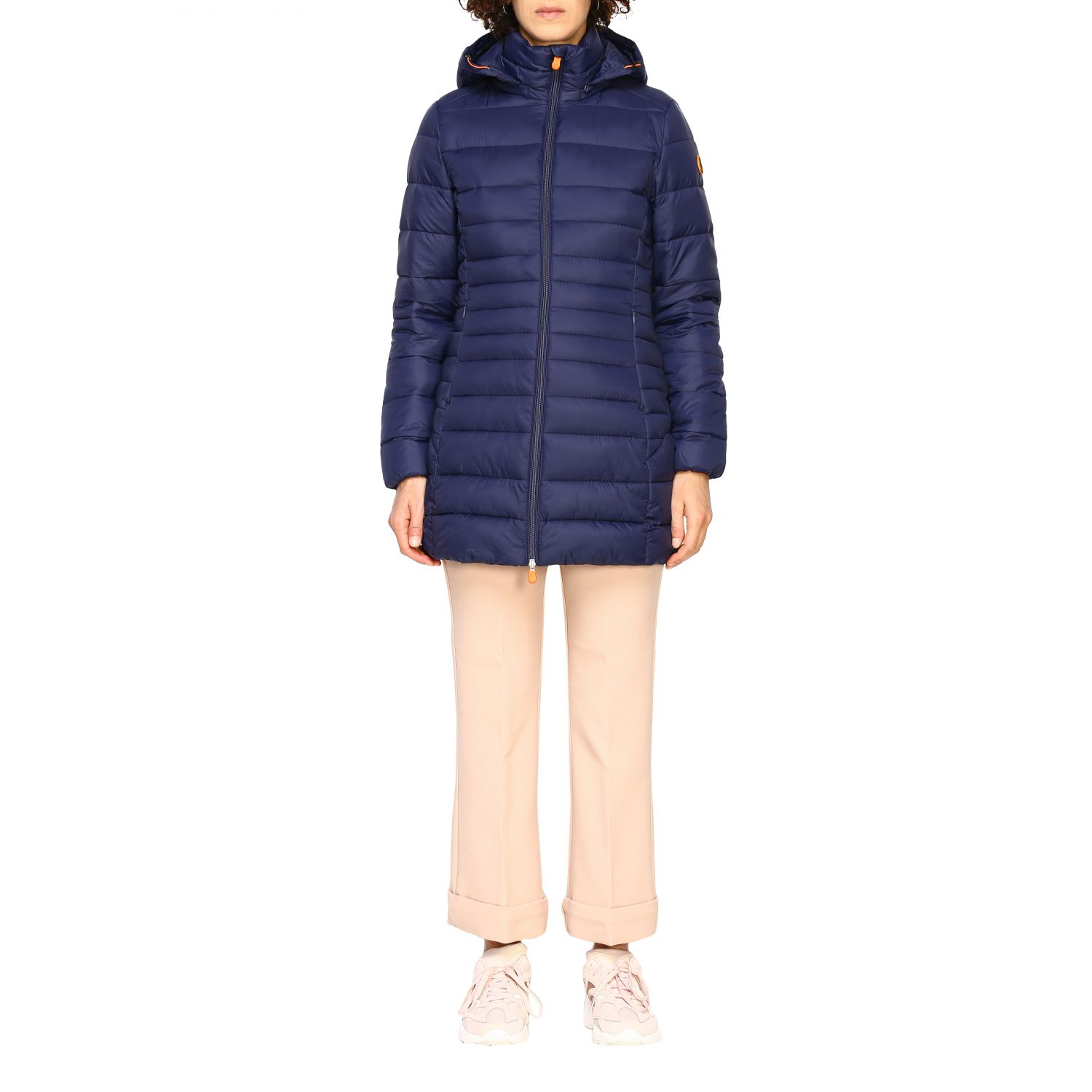 Giacca Save The Duck: Cappotto donna Save The Duck blue navy 1