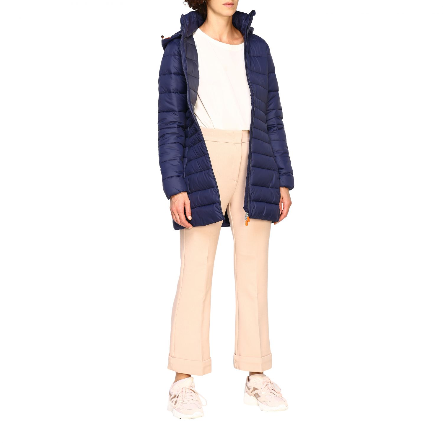 Giacca Save The Duck: Cappotto donna Save The Duck blue navy 2
