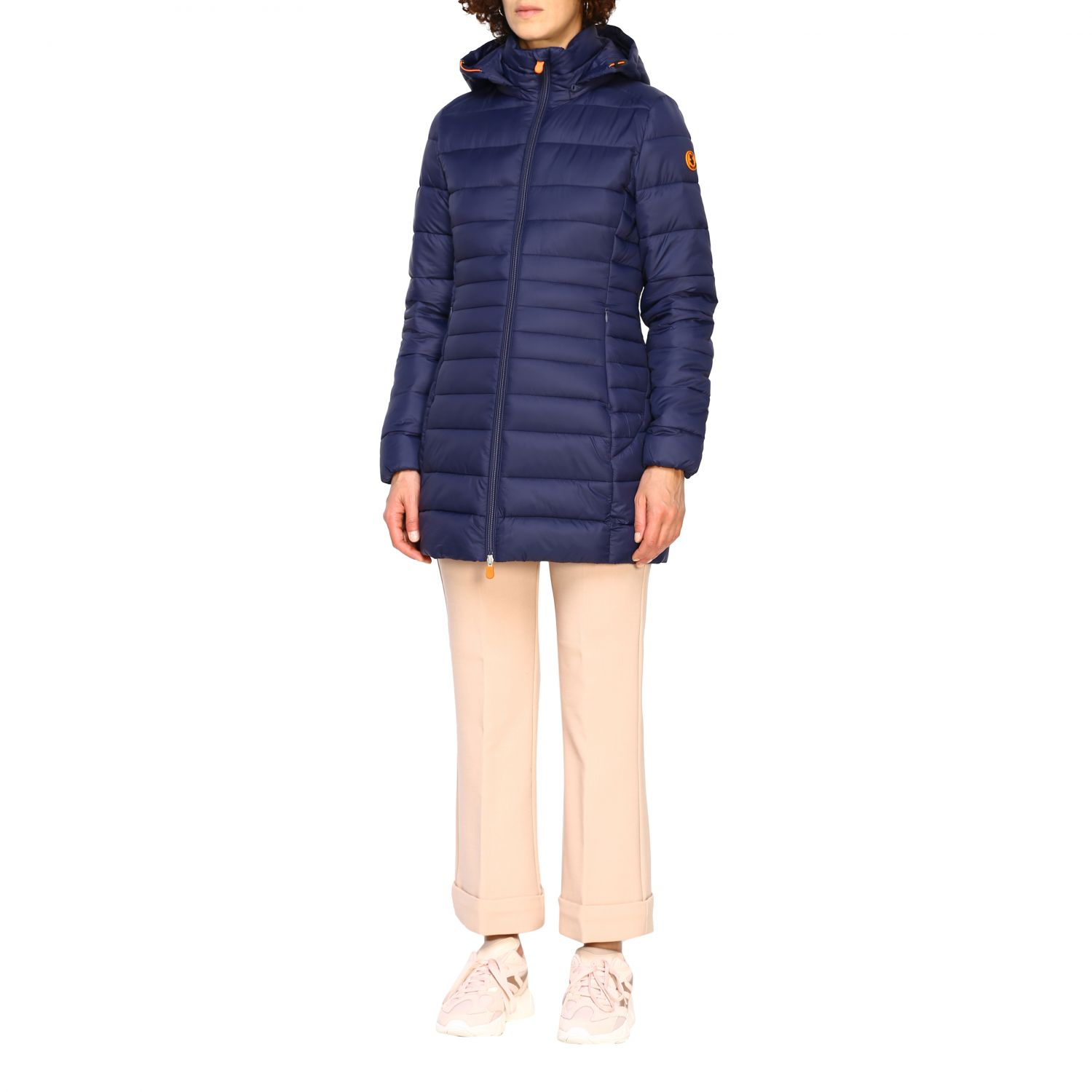 Giacca Save The Duck: Cappotto donna Save The Duck blue navy 4