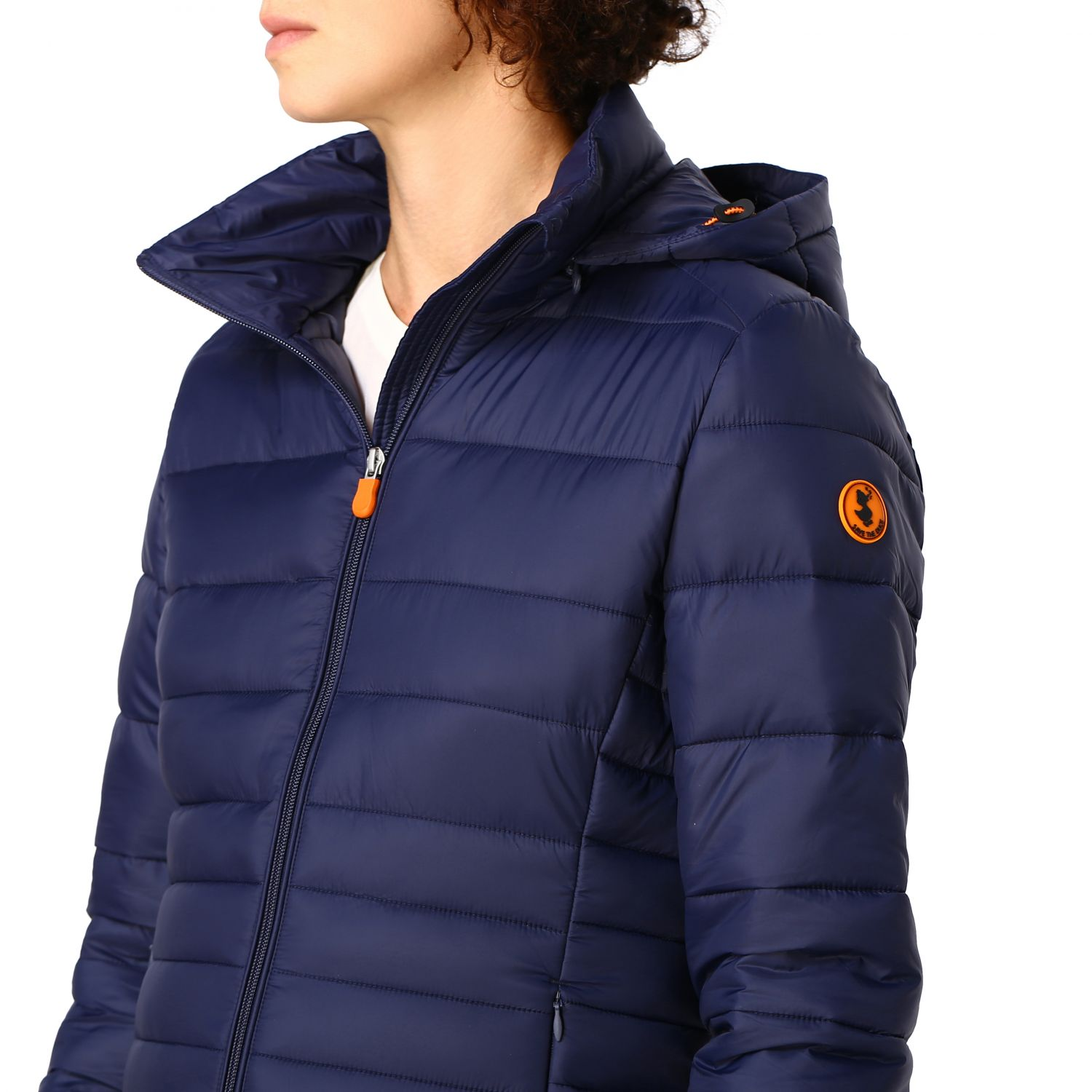 Giacca Save The Duck: Cappotto donna Save The Duck blue navy 5