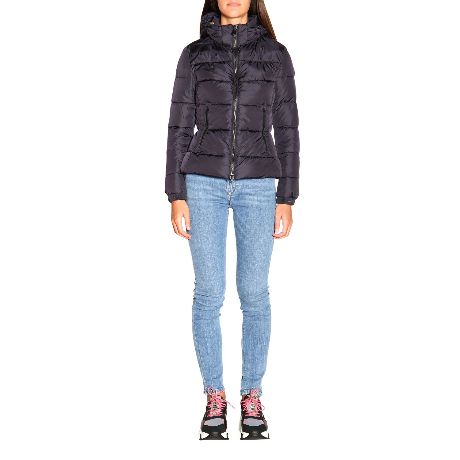 Giacca Save The Duck: Cappotto donna Save The Duck nero 1
