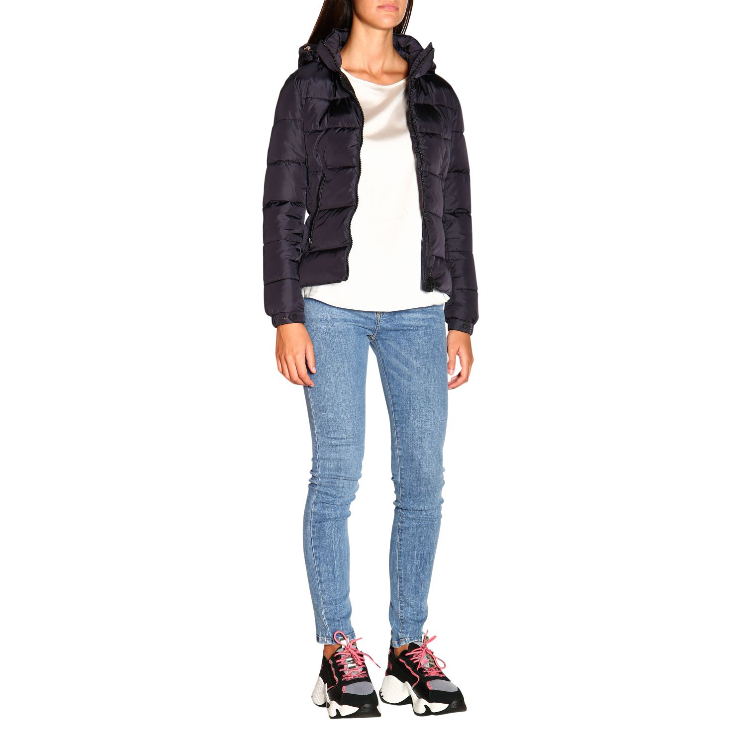 Giacca Save The Duck: Cappotto donna Save The Duck nero 2