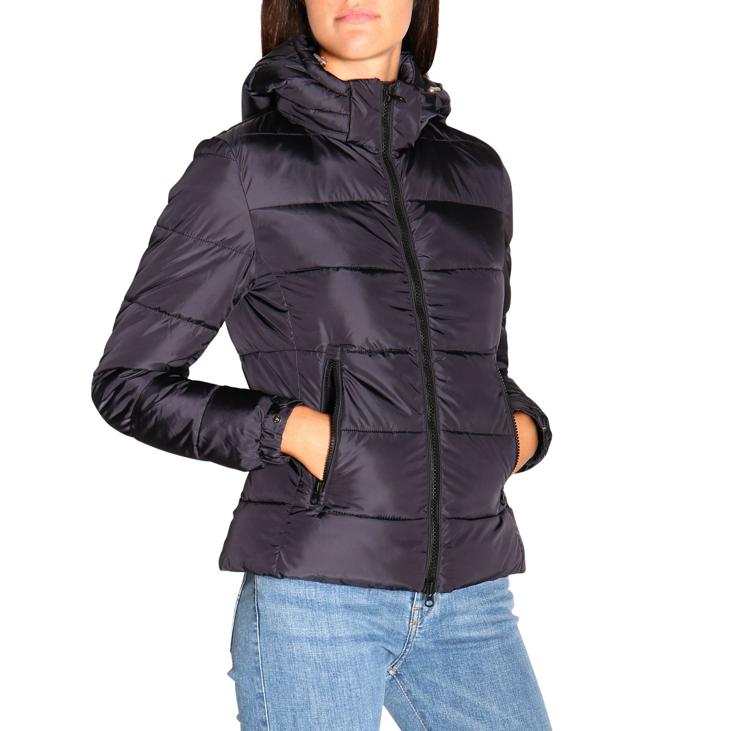 Giacca Save The Duck: Cappotto donna Save The Duck nero 5