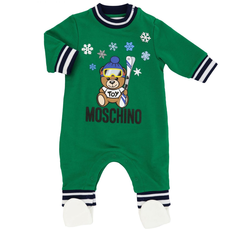 Jacket kids Moschino Baby green 1