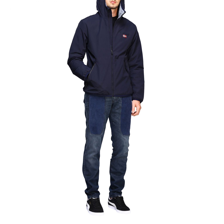 Куртка Мужское Napapijri синий 2
