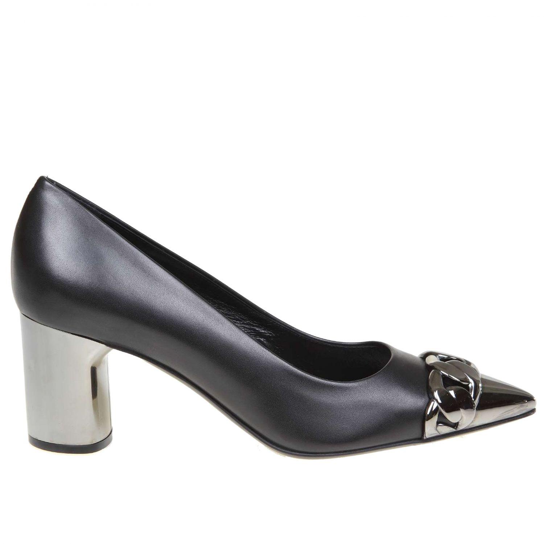 Court shoes women Casadei black 1