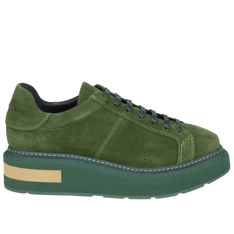 Sneakers women Manuel BarcelÒ green 1