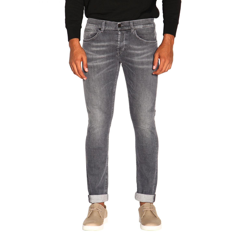 Jeans homme Dondup gris 1