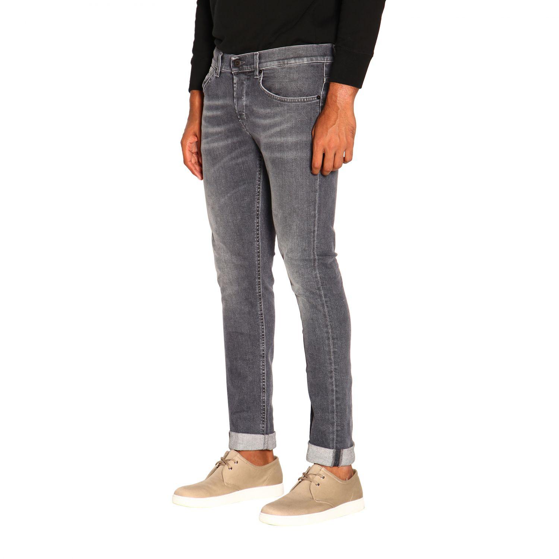 Jeans homme Dondup gris 4