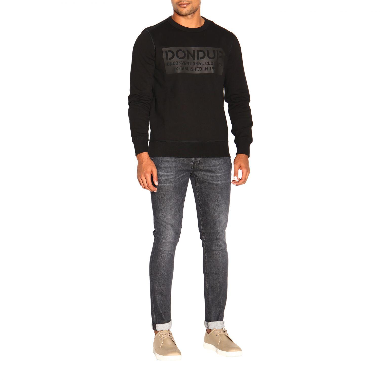 Sweatshirt men Dondup black 2