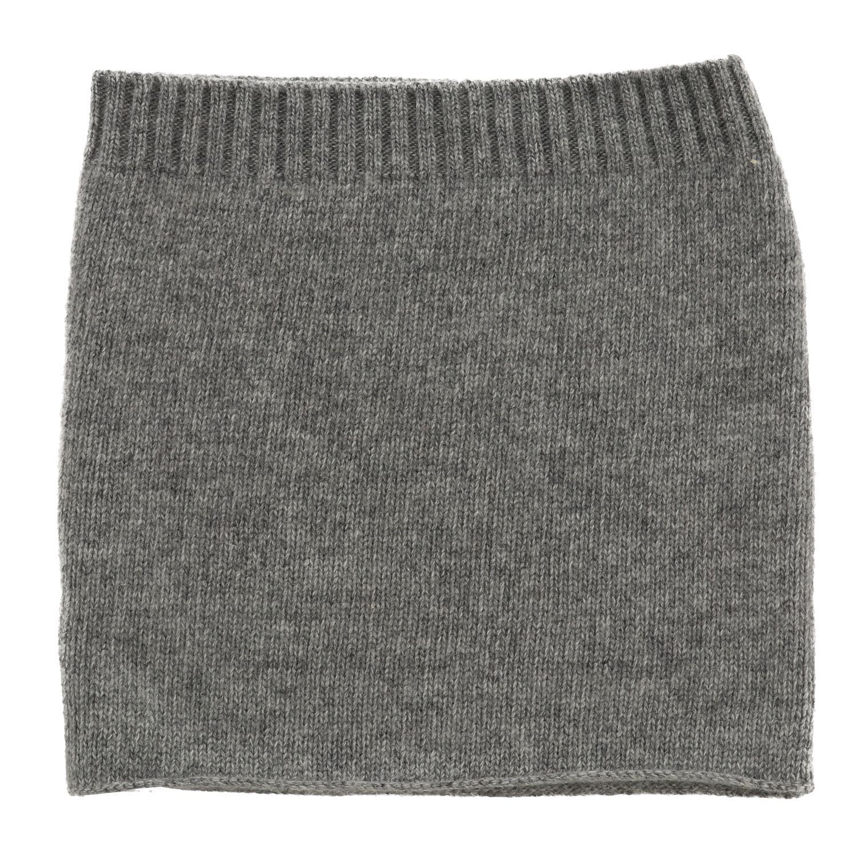 écharpe garçon enfant Catya gris 1