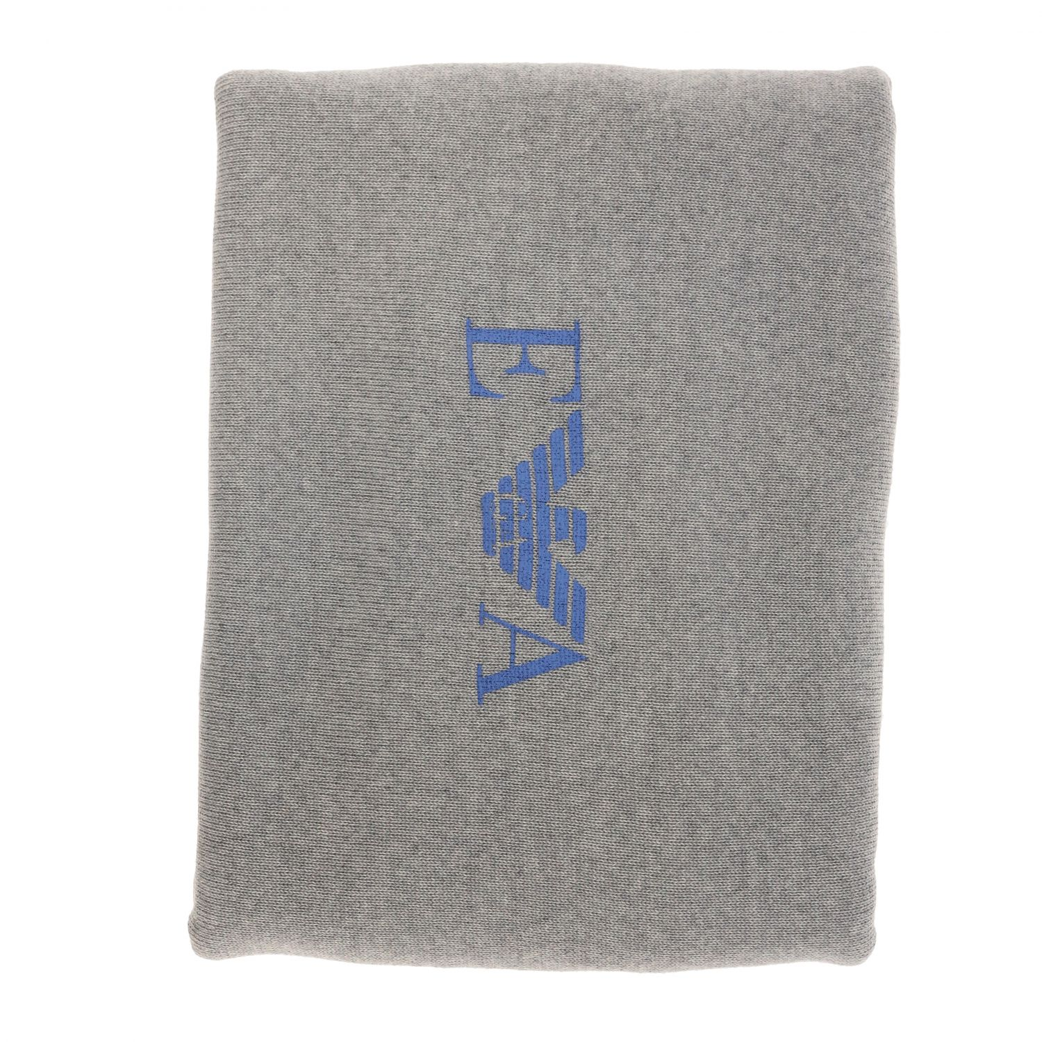 Blanket kids Emporio Armani grey 1