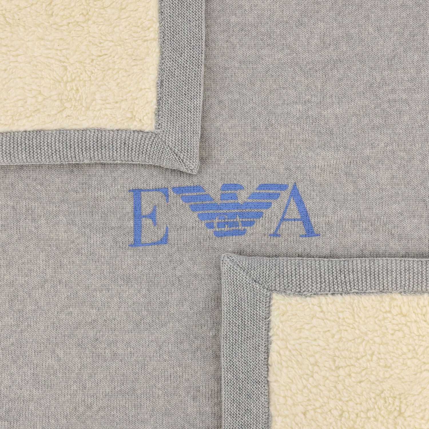 Blanket kids Emporio Armani grey 3