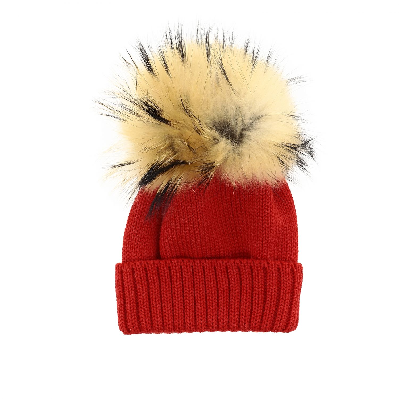 Chapeau enfant Catya rouge 1