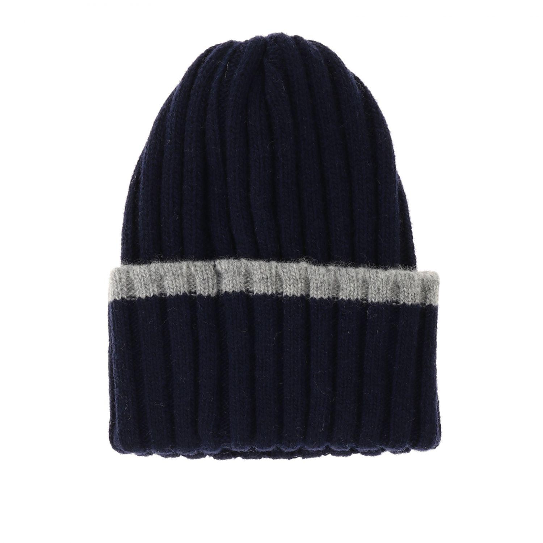 Chapeau enfant Catya bleu 2