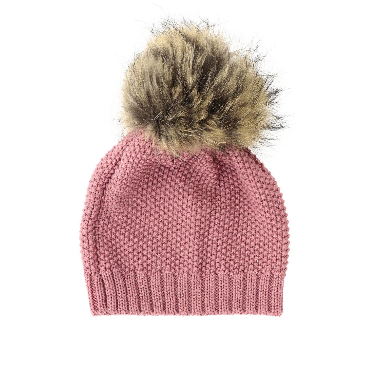 Chapeau enfant Catya poudre 1