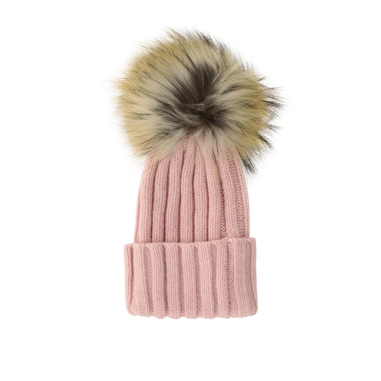 Chapeau enfant Catya rose 1