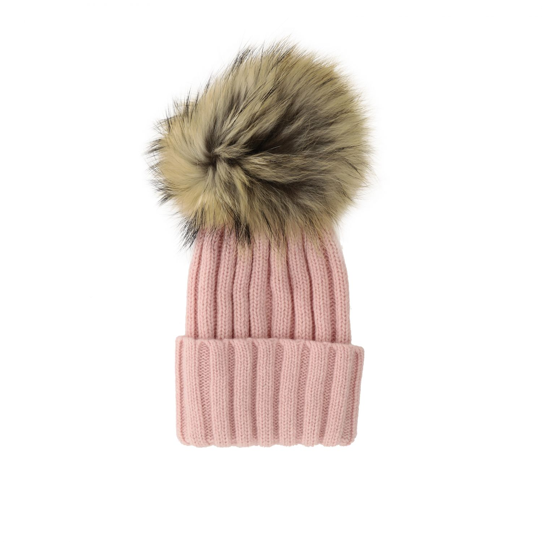 Chapeau enfant Catya rose 2