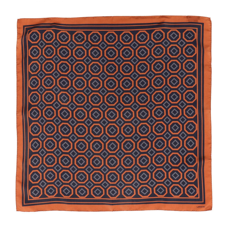 Neck scarf men Lardini black 1