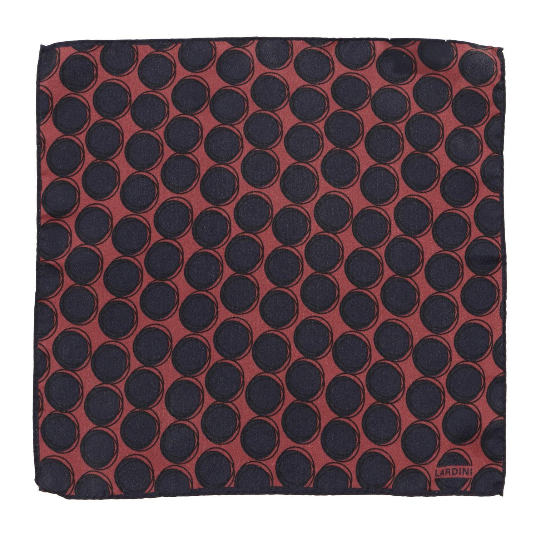 Neck scarf men Lardini burgundy 1