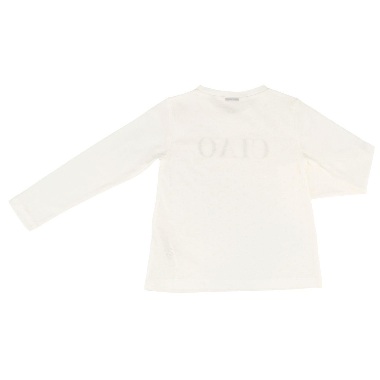 T-shirt enfant Liu Jo blanc 2