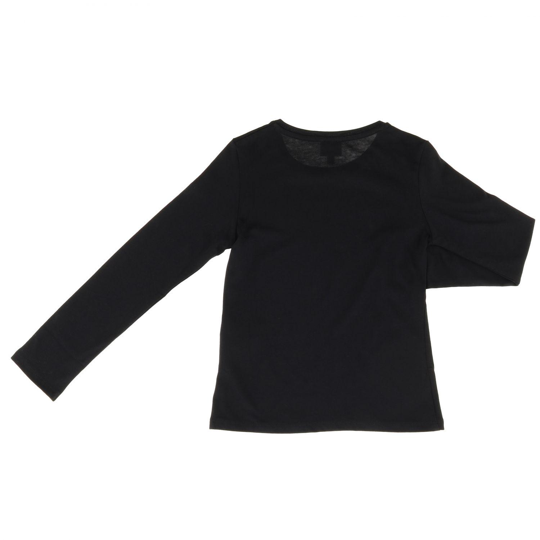 T-shirt kinder Karl Lagerfeld Kids schwarz 2