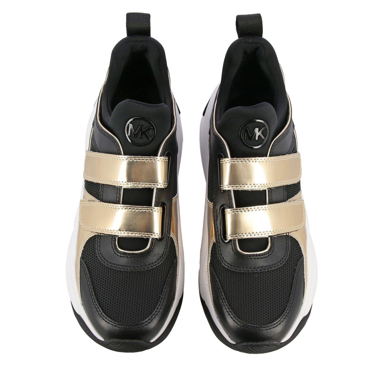 Sneakers Michael Michael Kors: Sneakers donna Michael Michael Kors nero 3